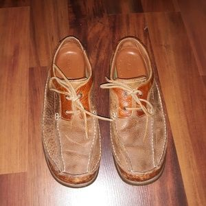 Mens Clark's Leather Loafers size 11.5